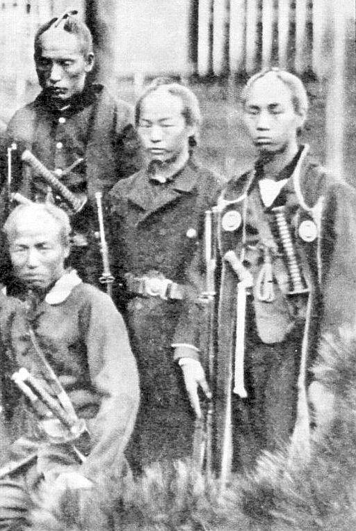 Boshin war wra samurai.