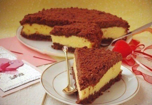 Приготовь любимому!!! Творожный «торфяной» пирог — Вкусные рецепты