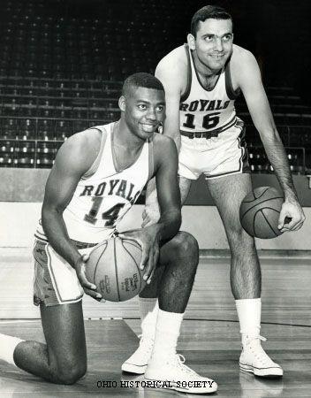 Oscar Robertson and Jerry Lucas