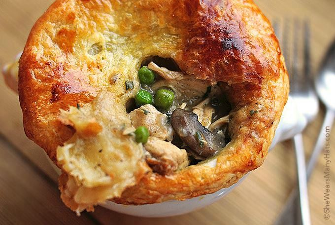 Chicken Pot Pie. Who says comfort food can't be romantic!? This dinner recipe is a sure win with a special someone!