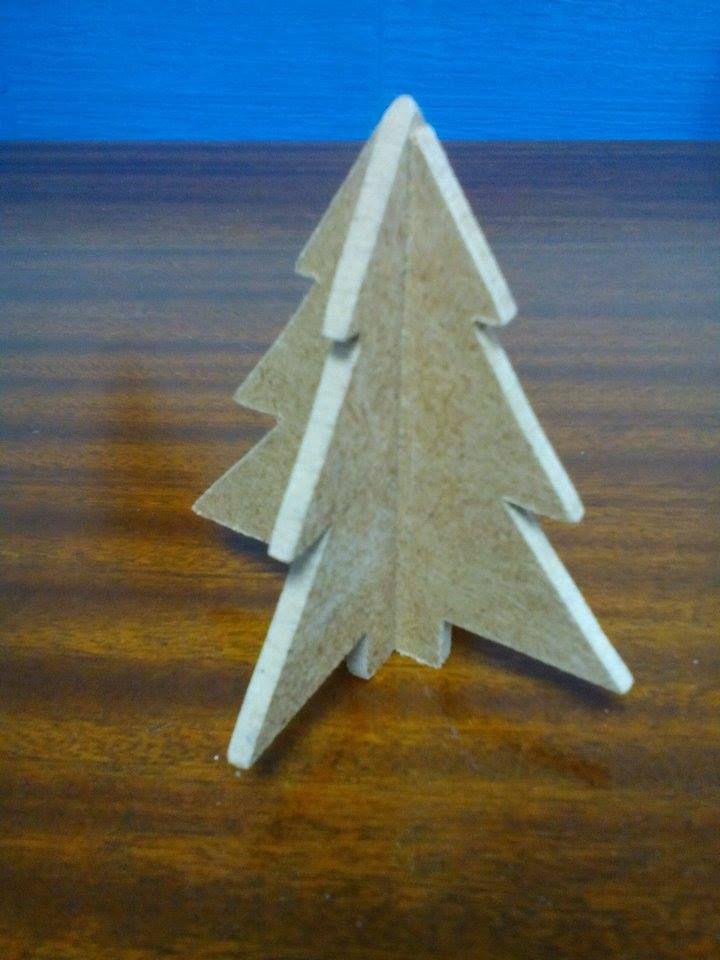 Χριστουγεννιάτικο στολίδι: Έλατο 3D