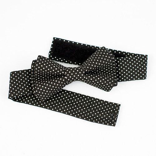 Need a bow tie for a formal occasion? Our black pin dot is a classic!
