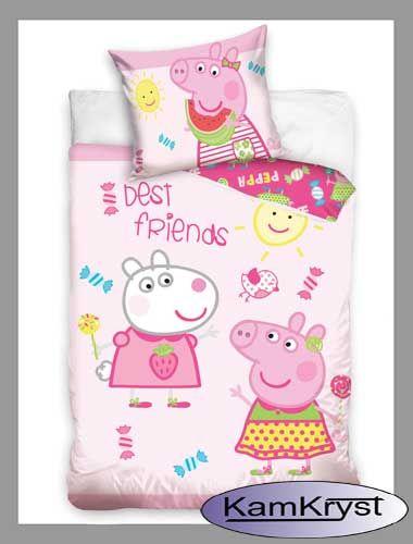 Kolejny wzór pościeli dziecięcej do łóżeczka w rozmiarze 100x135 cm - 100% bawełna