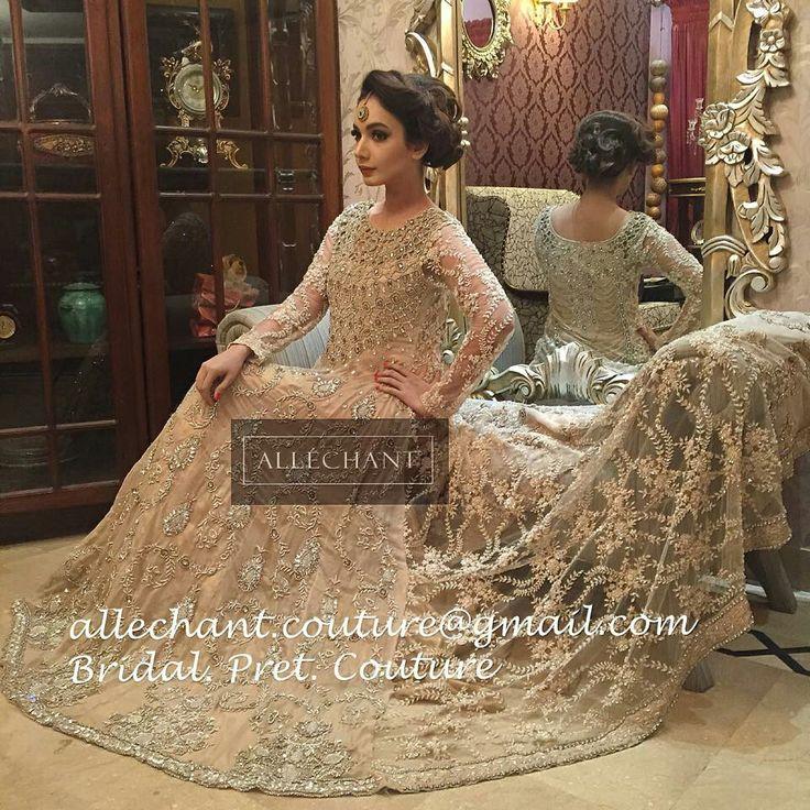 Allechant Pakistani bride