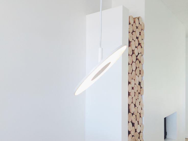 ✖️ Eldstad ✖️ Pendant Light • Pablo Designs • Circa ➕ Firewood • Lodgepole Pine • Debarked