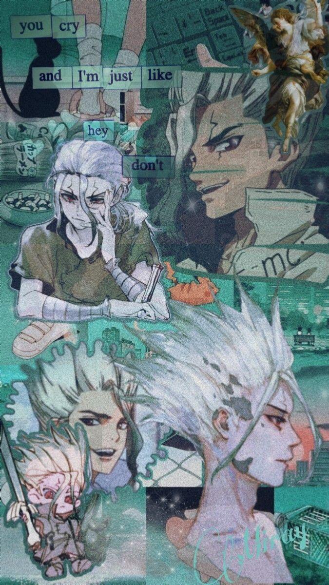 Senku Wallpaper Aesthetic In 2020 Aesthetic Anime Anime Anime Background