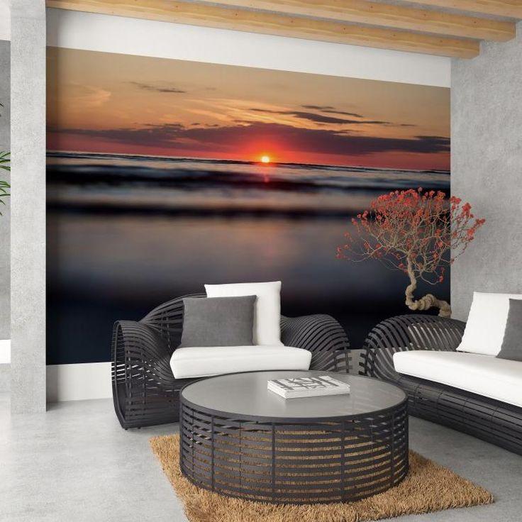 Západ slunce - fototapeta Samolepící vinylová tapeta 300 x 220 cm