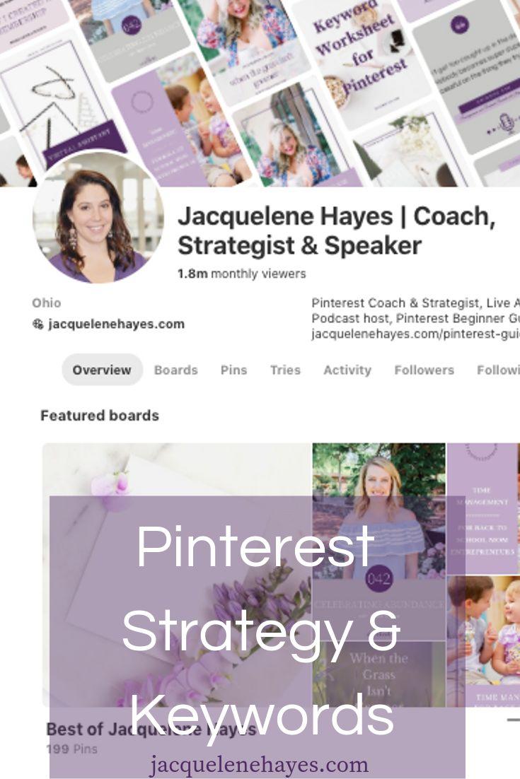 So finden Sie Keywords und eine Strategie für Ihr Pinterest-Geschäftskonto