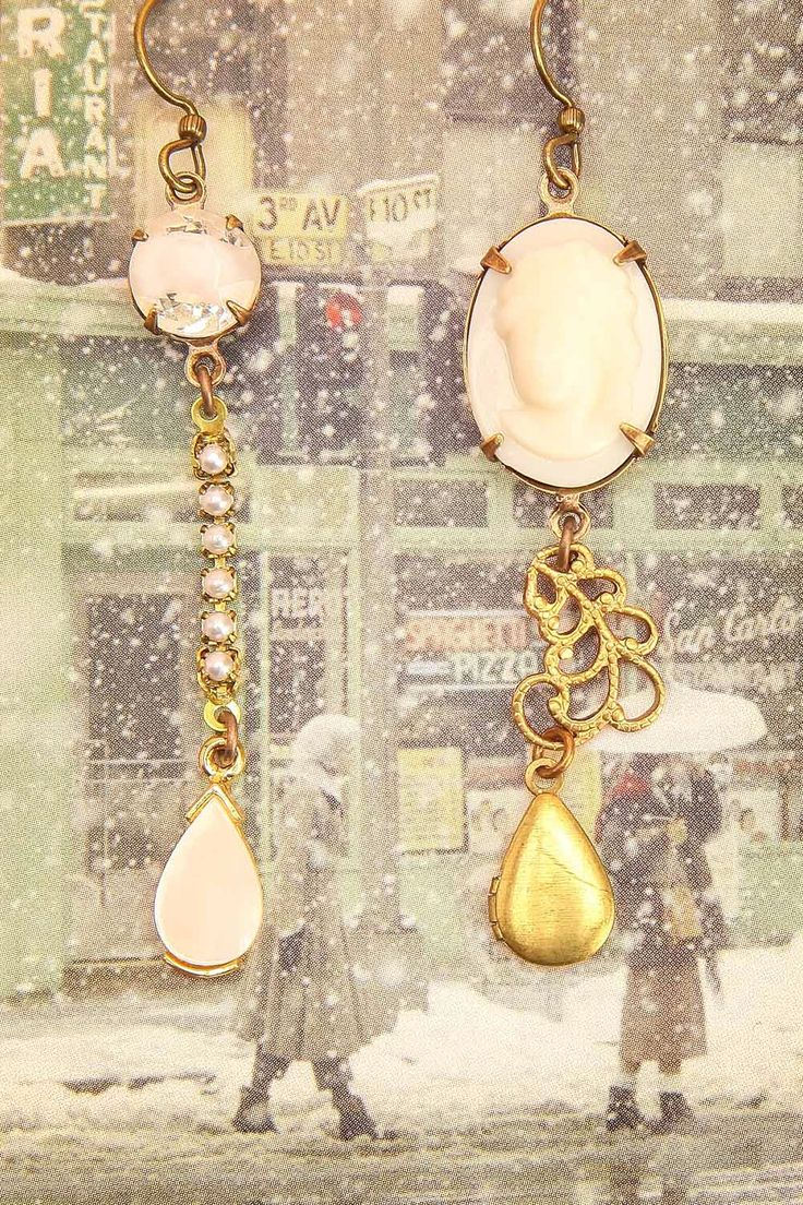 Earrings - Valentine's day - date - Jewels - Eva Saint Marie ♥ New yesterday from Boutique 1861 www.1861.ca