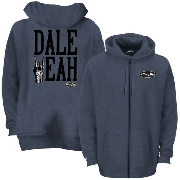 Dale Earnhardt Jr. JR Motorsports Team Collection Dale Yeah Terry Pullover Hoodie - Navy - $33.99