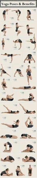 Posturas de yoga. Personal Trainer Entrenador en Madrid y Valencia. www.rubenentrenador.com