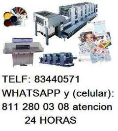 Lonas impresas en Monterrey (IGNACIO ALLENDE 1108 OTE CENTRO DE MONTERREY N.L)