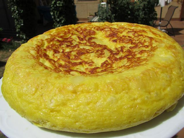 Tortilla de patata casi sin aceite