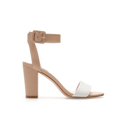 MID-HEEL SANDALS - Heeled sandals - Shoes - Woman - ZARA United Kingdom