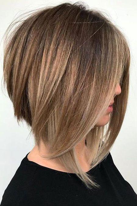 duga obrnuta paž/bob lob frizura