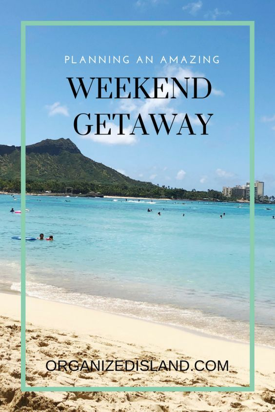 My Extended Vacation: The Long Weekend