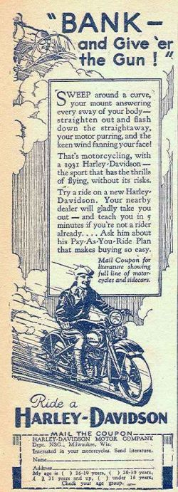 the history of harley davidson marketing essay History (8,438) physics (2,682)  buddy essay extracts from this document  terry cared more about his motorbike (harley davidson).