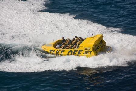 Zawrotnie szybka łódź motorowa