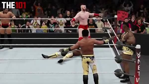 Finishers are all the more DEVASTATING when they happen OUT OF NOWHERE! #WWE2K16