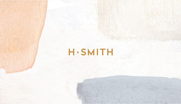 H. Smith Branding by Kati Forner https://mindsparklemag.com/design/h-smith-branding/