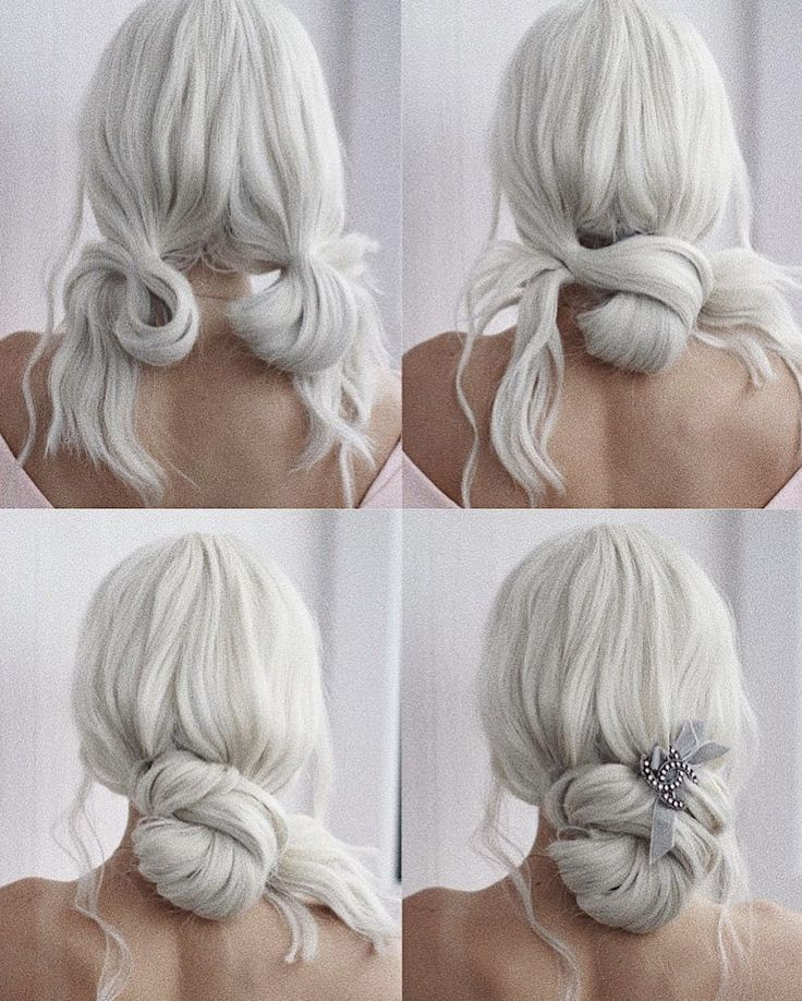 QUICK EASY UPDO #BEHINDTHECHAIR #UPDO #WEDDING #WEDDINGHAIR INVISIBOBBLE