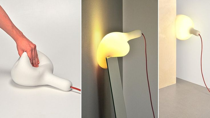 Trouble lighting a certain corner of your home? Here's a lamp you can place anywhere. #lighting #design #homedecor