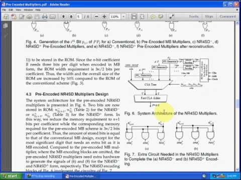 Pre-Encoded Multipliers Based on Non-Redundant Radix-4 Signed-Digit Enco...