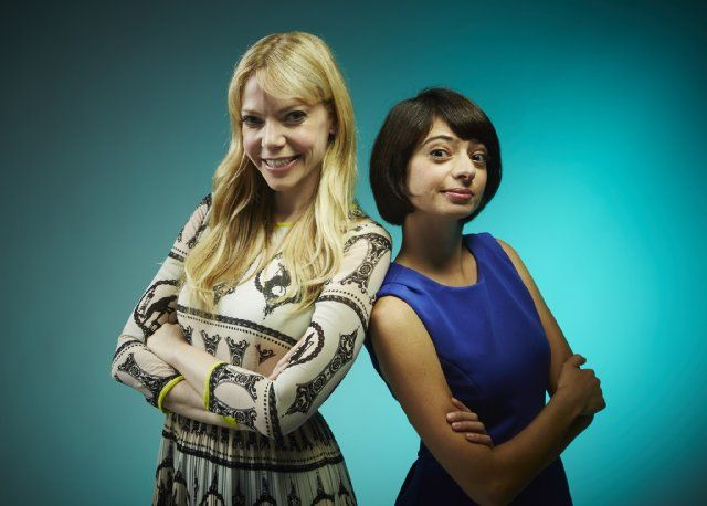 SDCC 2014 - Riki Lindhome and Kate Micucci