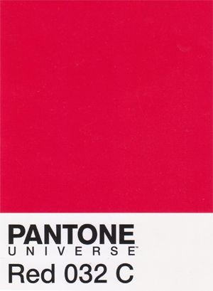 #Pantone Red 032C