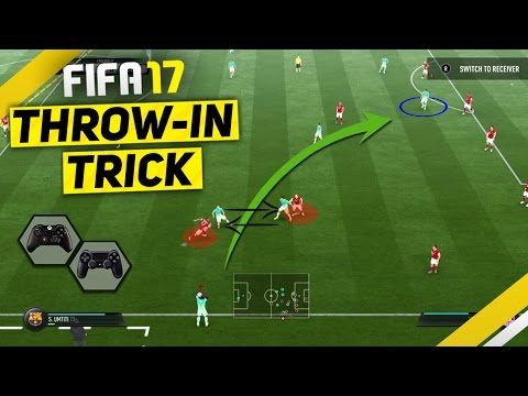 "http://www.fifa-planet.com/fifa-17-tutorials/fifa-17-attacking-tutorial-attack-like-a-pro-with-the-special-throw-in-trick-to-score-goals/ - FIFA 17 ATTACKING TUTORIAL - ATTACK LIKE A PRO WITH THE SPECIAL THROW IN TRICK TO SCORE GOALS  FIFA 17 TUTORIAL – HOW TO PERFORM THE SPECIAL FAKE THROW IN & SCORE GOALS ►Buy cheap & safe coins here http://www.fifacoin.com/?aff=22907 15% Discount Code ""Ovvy"" ►Cheap Games & Codes https://www.g2a.com/r/o"