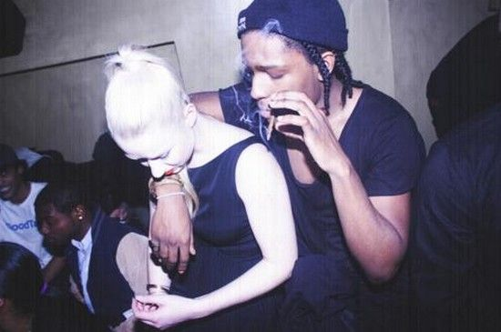 Asap Rocky and Iggy Azalea. <3