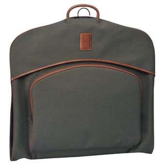 Longchamp Boxford Garment Bag. Has to be the best value one on the market (it'a a Fiver under a Ton).