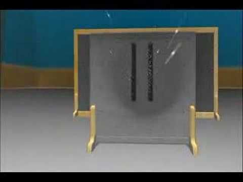 Double slit theory Quantum Physics Animation