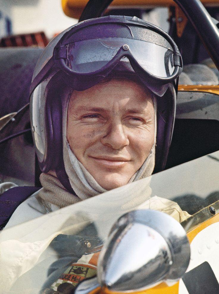 Bruce McLaren, New Zealand motor racing legend.