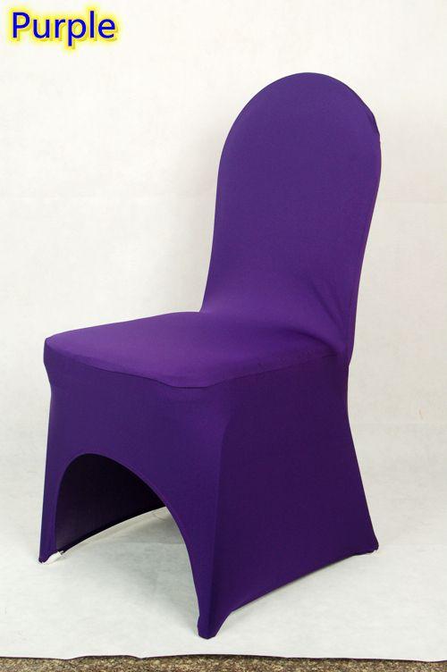 Председатель обложка фиолетовый цвет лайкра председатель для всех банкетных стульев удивительный цвет для романтического свадьбы украшение оптовая продажа