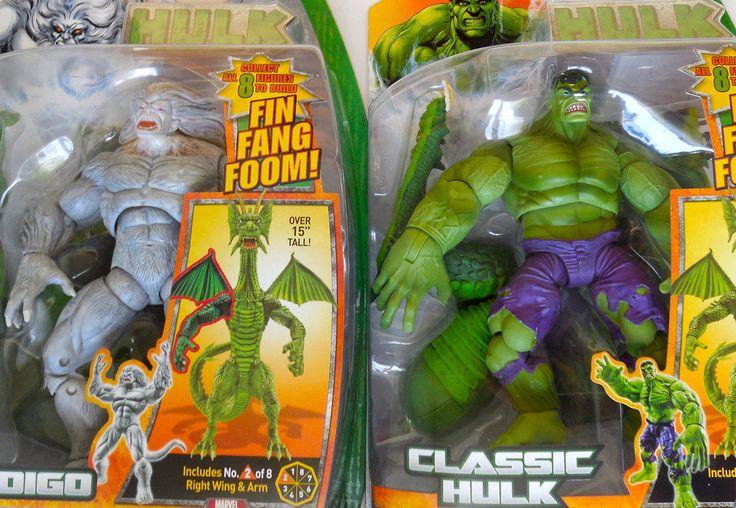 Comic Book Heroes 158671: Marvel Legends 2008 (Hulk Wave) Fin Fang Foom Baf Series Action Figures -> BUY IT NOW ONLY: $53.5 on eBay!