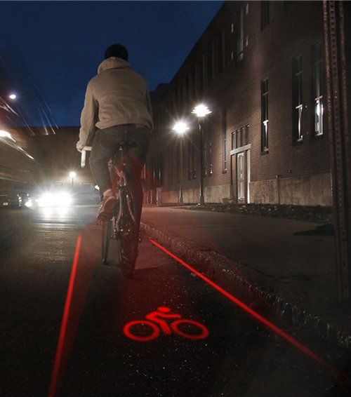 Create your own bike lane with LightLane
