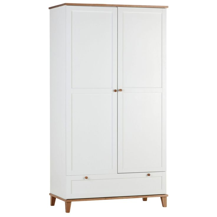 Arcadia 2 Door 1 Drawer Wardrobe – Next Day Delivery Arcadia 2 Door 1 Drawer Wardrobe from WorldStores: Everything For The Home