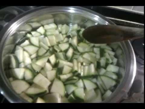 Como congelar calabacines