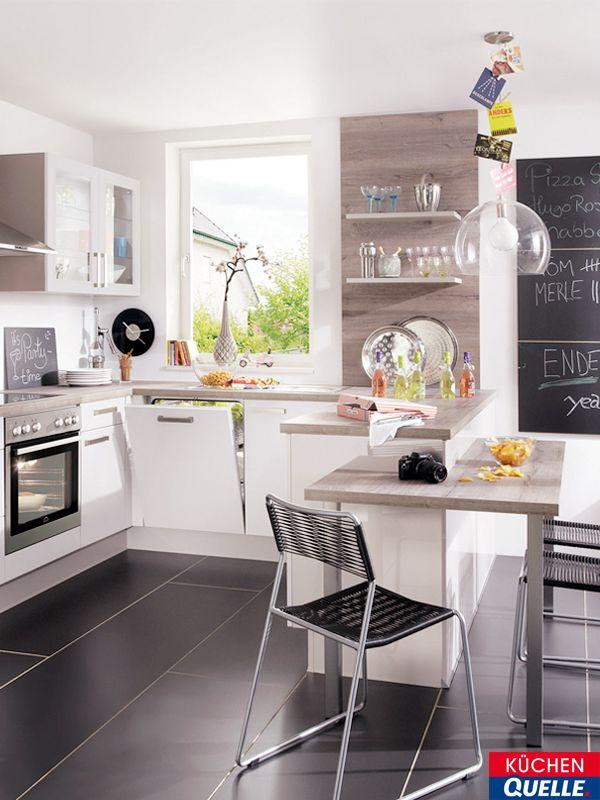 17 best Küche images on Pinterest Kitchen ideas, Contemporary - küchenschrank hochglanz weiß