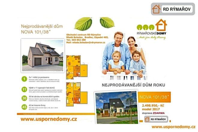 Nova 101, obchodní centrum, rd rýmařov, montovaná dřevostavba, ukázkový dům, www.uspornedomy.cz,