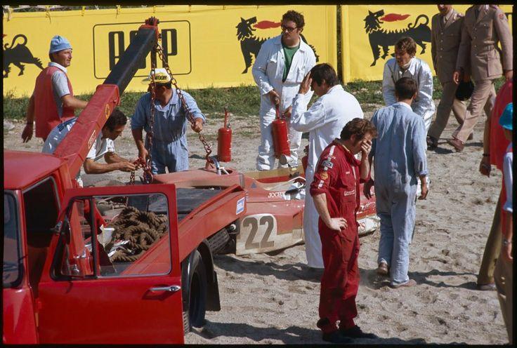 Crash Formule 1 + Jochen Rindt Lotus The Tragedy of