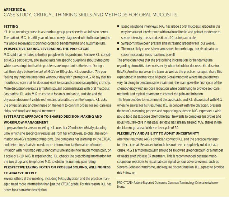 Oncology nursing society cjon oncology nursing
