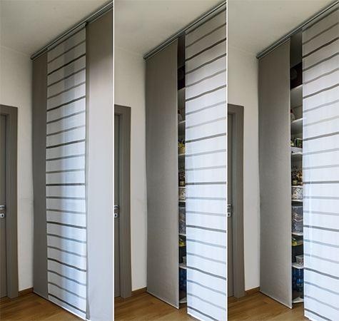 Apartment in Parma #renovation #apartment #parma #italy #interiordesign #corridor #closet