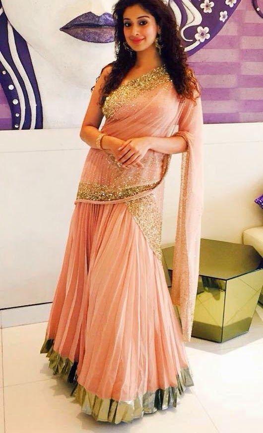 Lakshmi Rai. I love her saree too