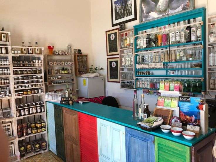 If you are traveling to Todos Santos, Baja California Sur, don't forget to visit this quirky mezcal shop.