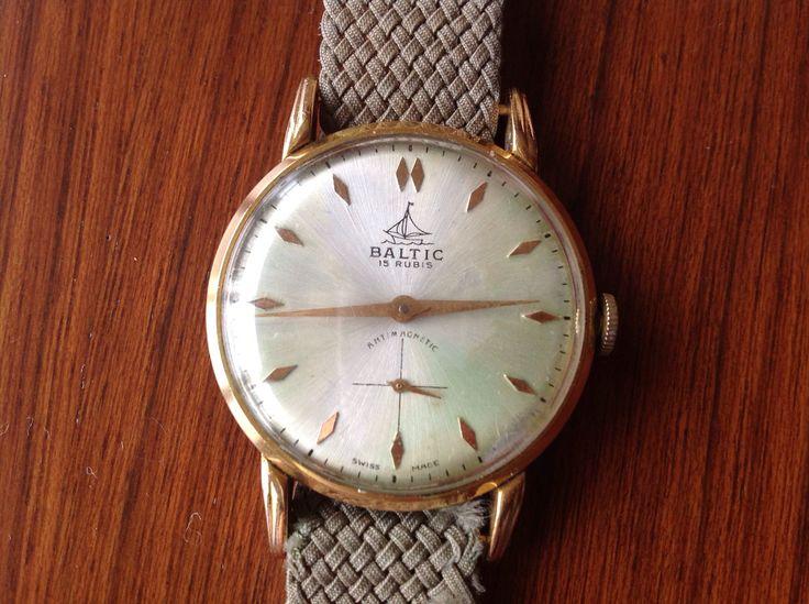 Baltic Hand Winding Watch