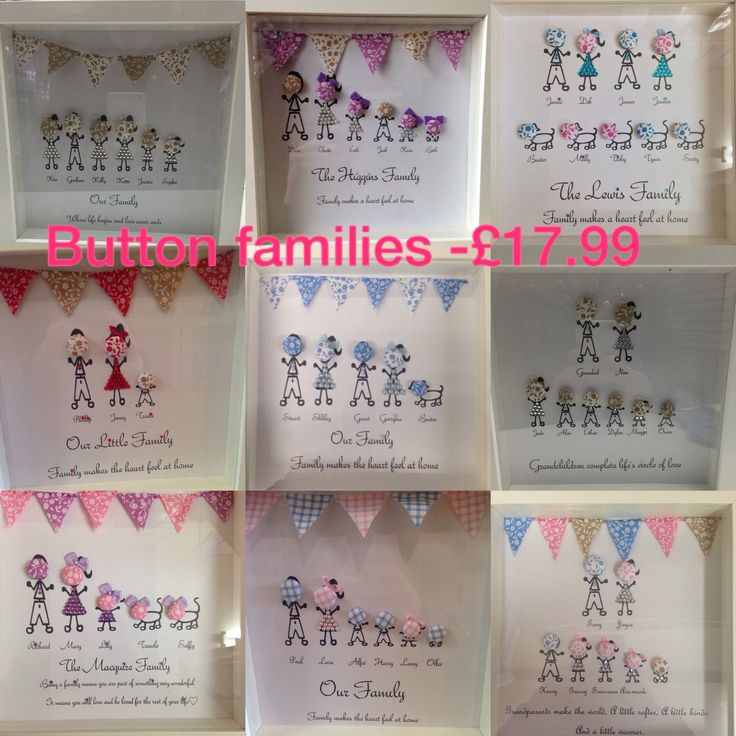 Button families -£17.99