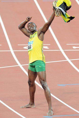 Usain Bolt the sprinter from Jamaica.