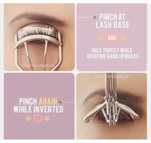 For curlier lashes